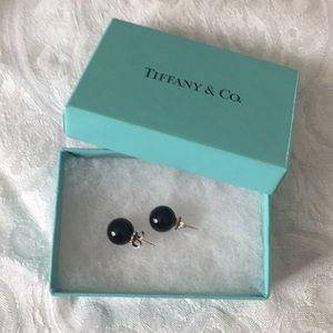 Tiffany & Co Onyx earrings